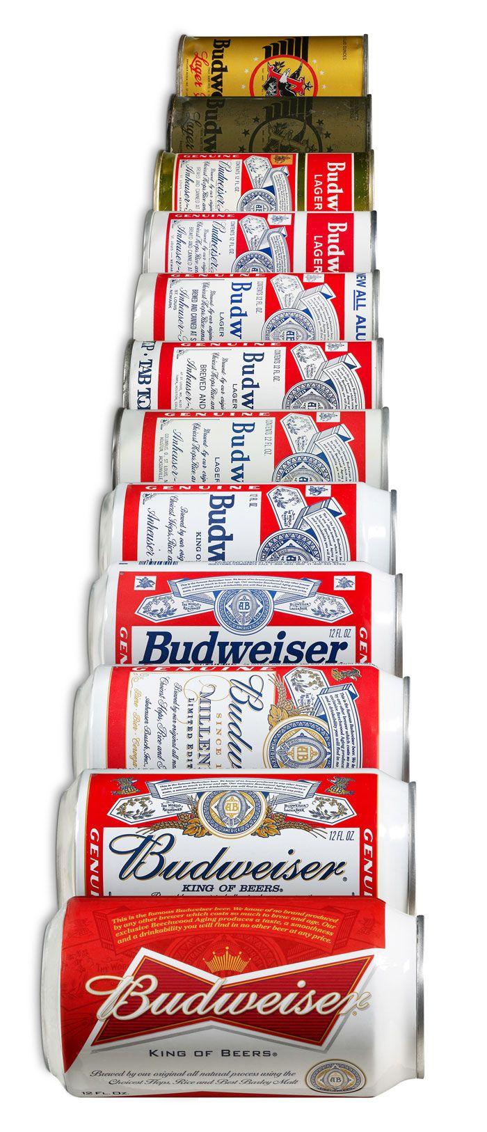 "Budweiser Rebrands With New ""Bowtie"" Design Design, Over"