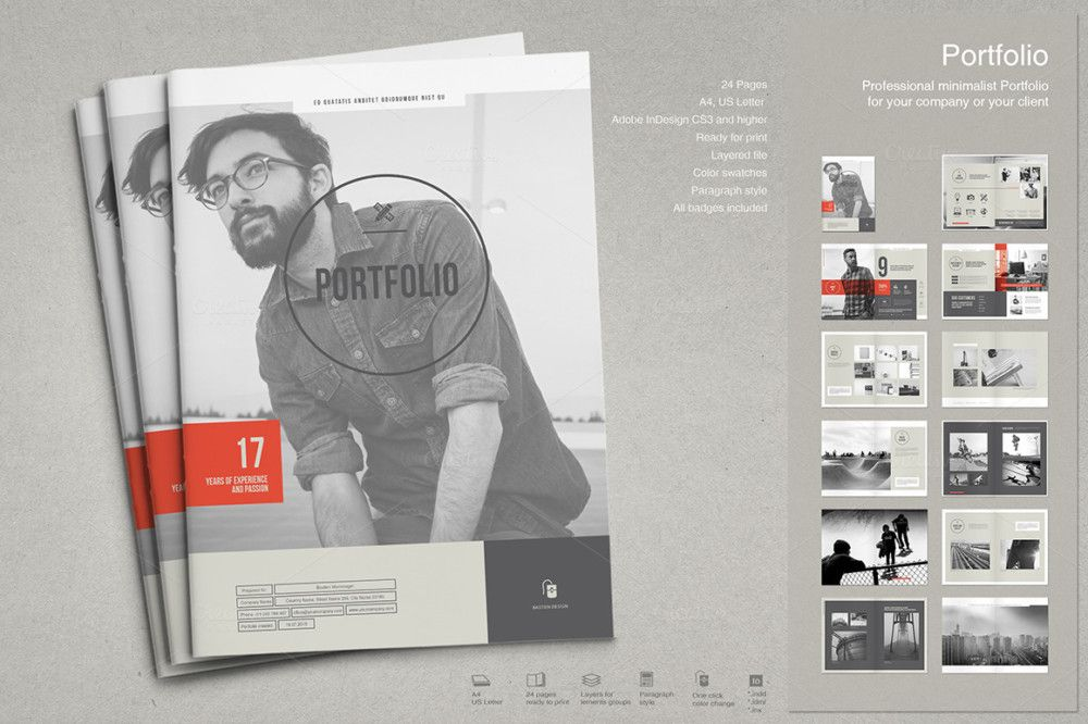 Consulting Proposal Template Word, EPS, PSD And InDesign Template  Portfolio Word Template