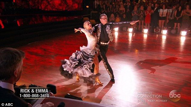 Former governor: Rick Perry performed a paso doble with Emma Slater