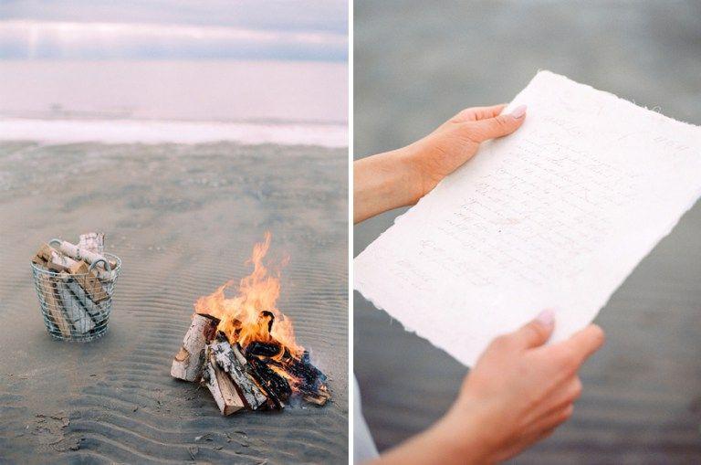 Seashell Beach Wedding Inspiration | Falkenberg