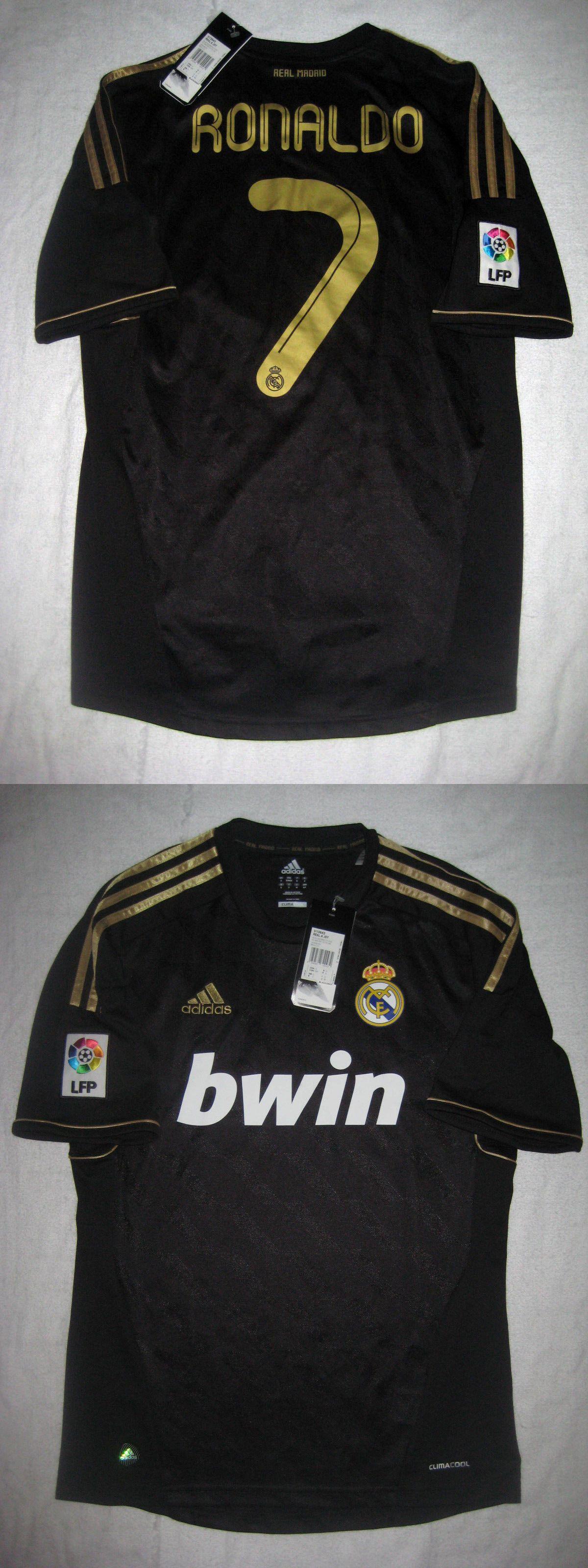 5c3867e6b Soccer-International Clubs 2887  Adidas 2011 2012 Real Madrid Cristiano Ronaldo  Jersey Shirt Manchester