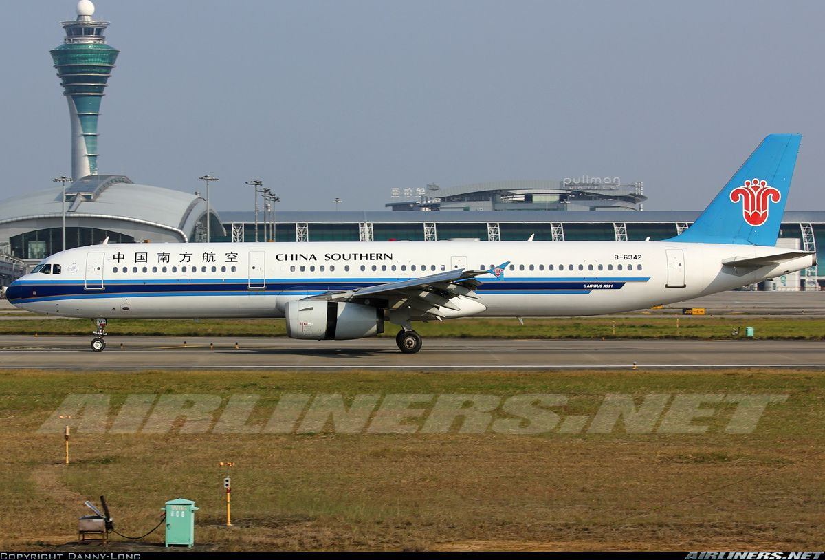 Airbus A321231, China Southern Airlines, B6342, cn 3459