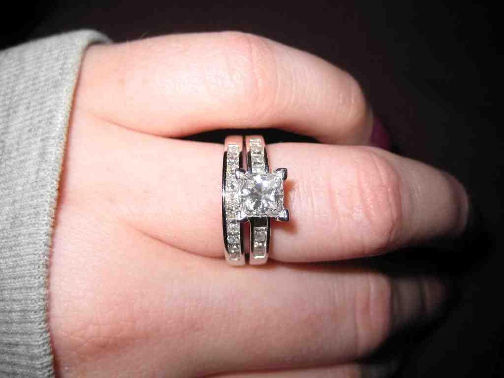 5 Carat Princess Cut Diamond Engagement Ring | princess cut diamond ...