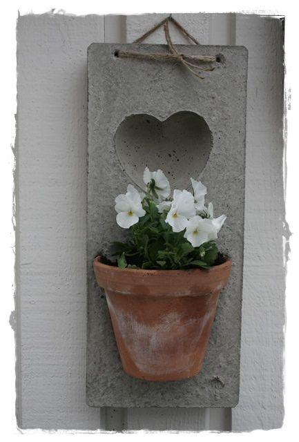betong ute och inne betoni Pinterest Beton, Idée bricolage et