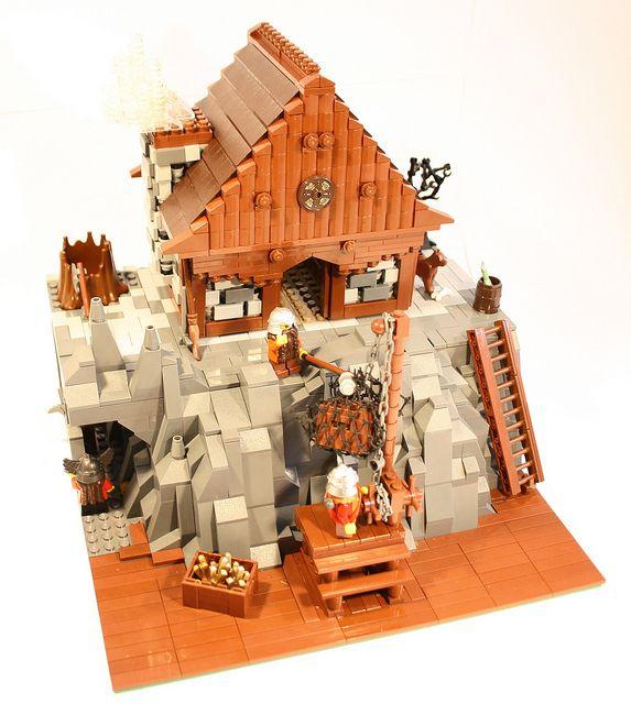 dwarves 39 mine lego haus lego und h uschen. Black Bedroom Furniture Sets. Home Design Ideas