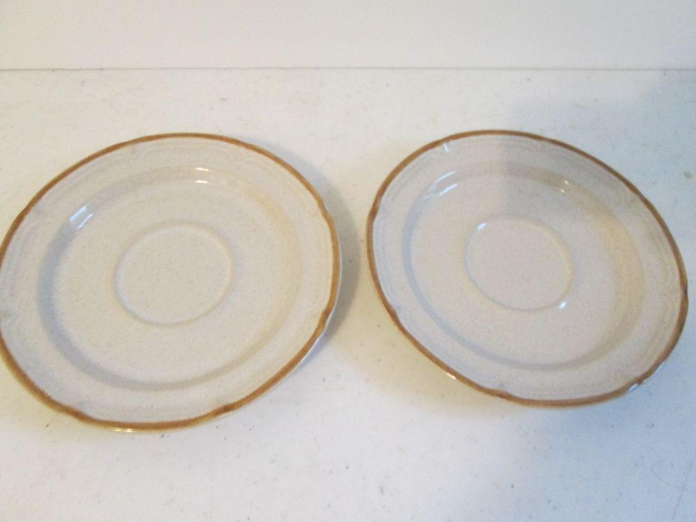 2 Pc Set Baroque Autumn Fair Hearthside Stoneware Made in Japan ...