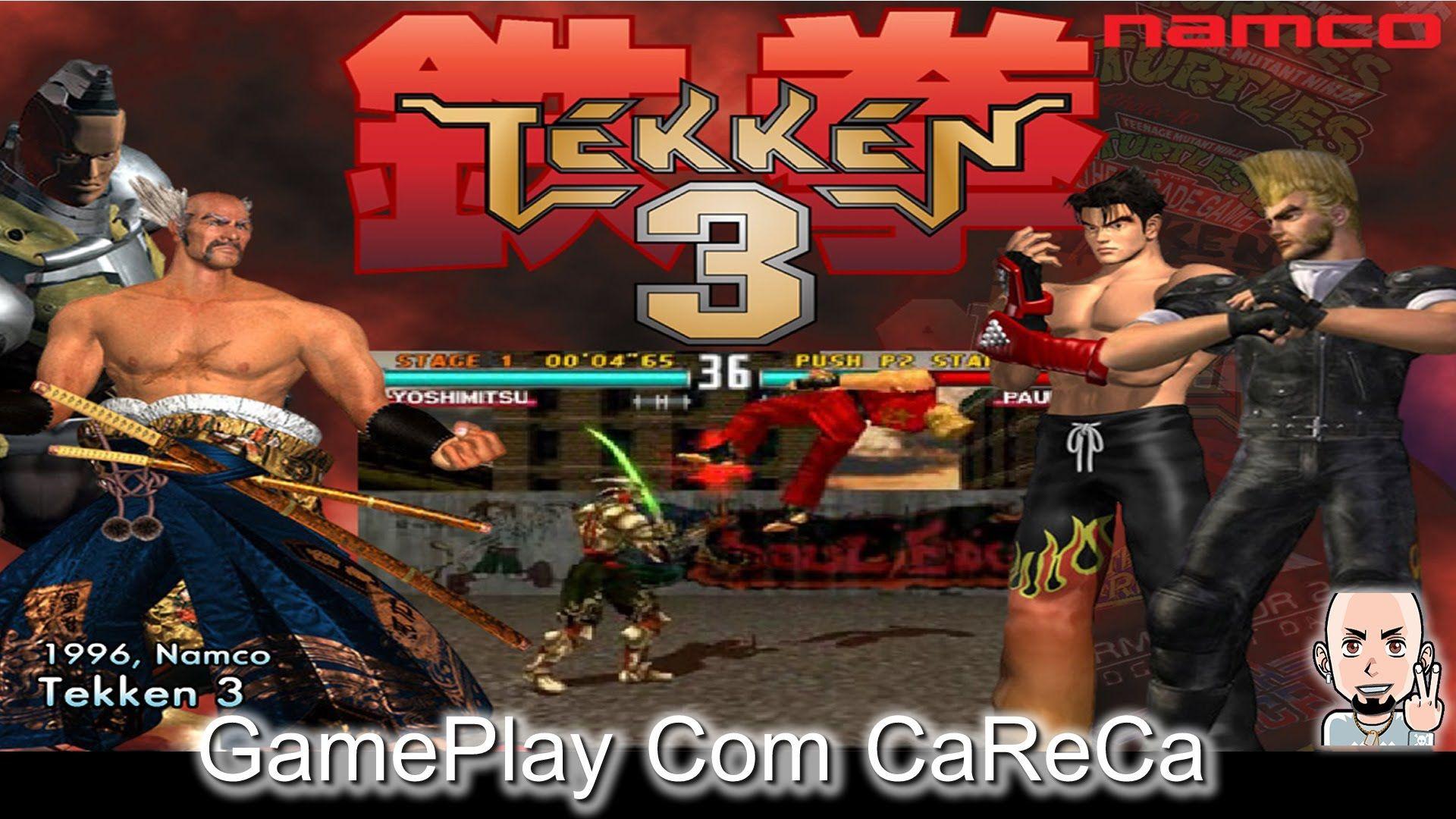 tekken 3 ps1 cover art