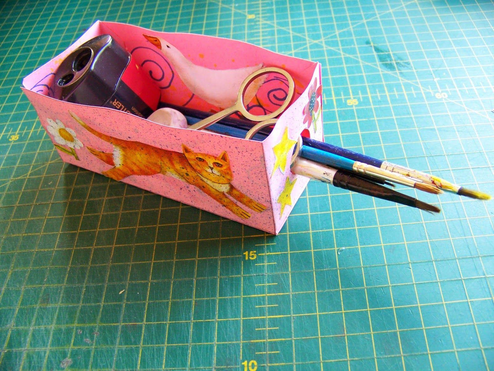 Fold A Stationery Box