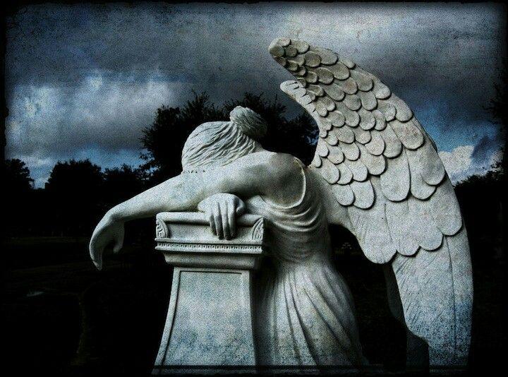 cemetery art photography