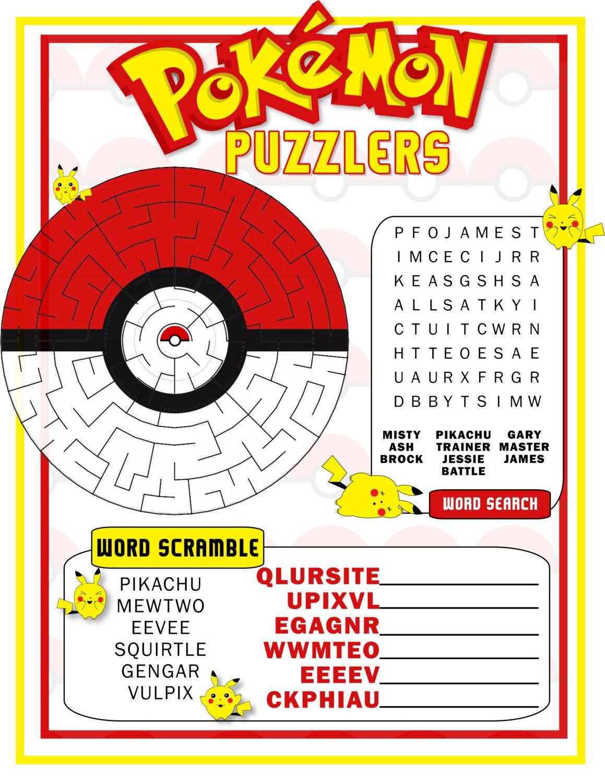 Pokemon Game Card Pokemon Birthday Party Favor Pokemon