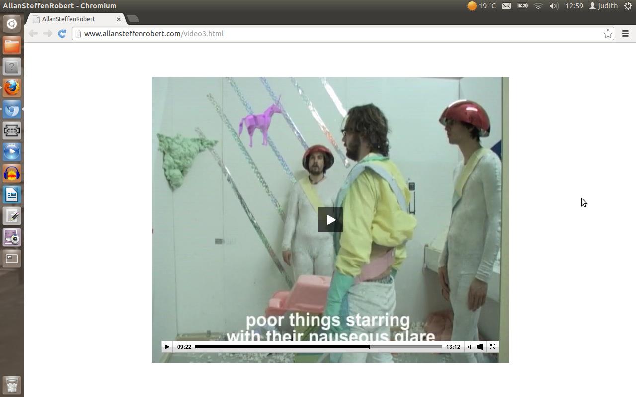 "captura de pantalla del video de AllanSteffRobert ""Straw Thughts"" (2006) link para disfrutar: http://www.allansteffenrobert.com/video3.html"
