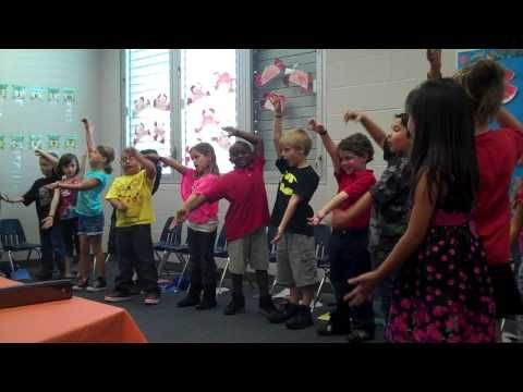 Kindergarten - End of Year Performance June 2013 - YouTube
