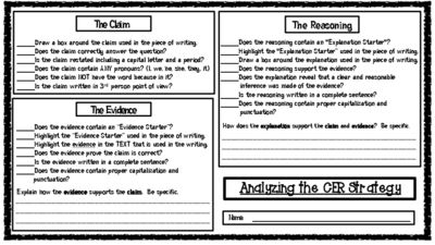 Image Result For Claims Evidence Reasoning Worksheet Cer Claim Evidence Reasoning Activities Image Result For Claims Evidence Reasoning Worksheet