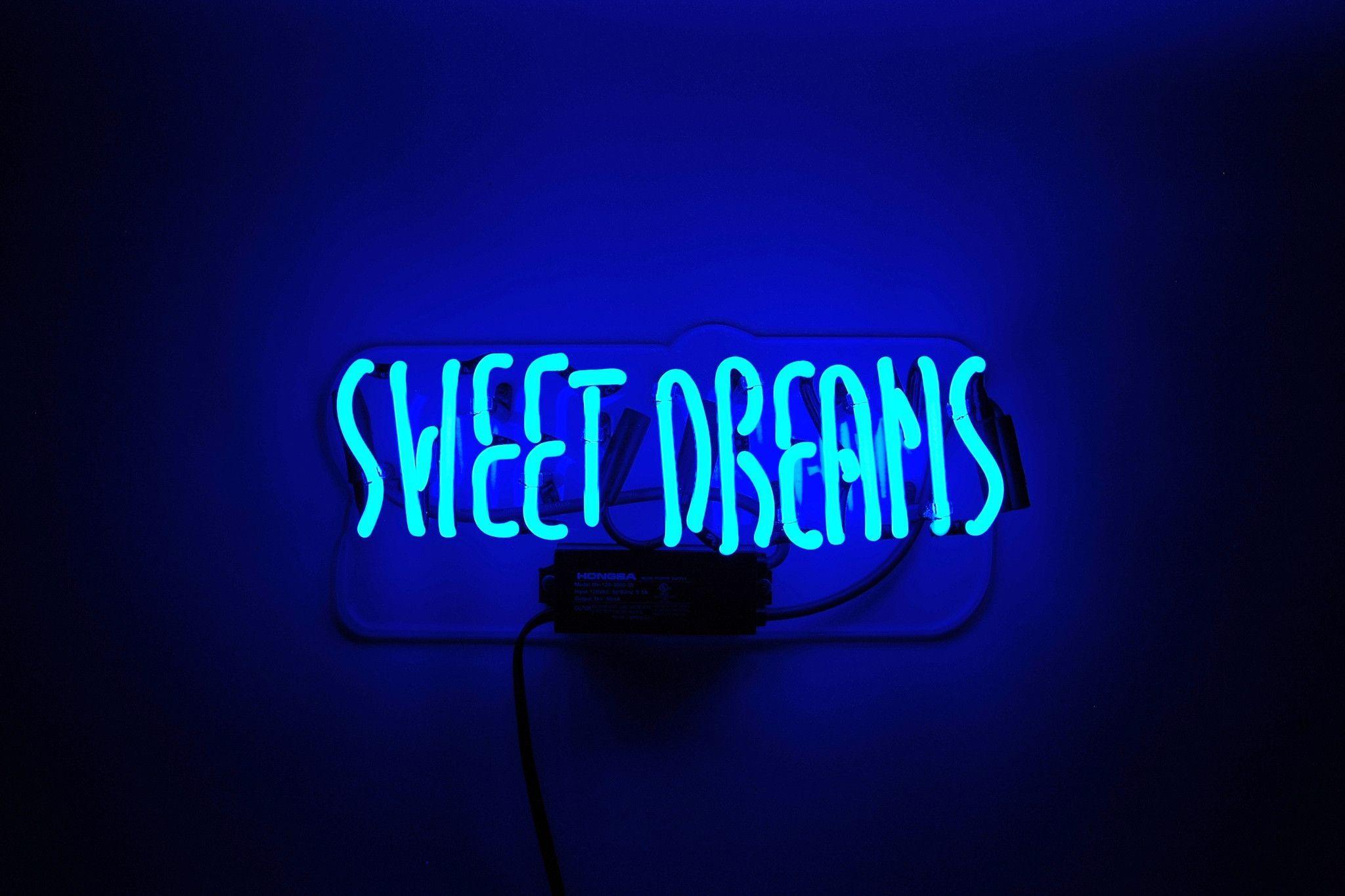 sweet dreams neon sign neon neon lighting and lights. Black Bedroom Furniture Sets. Home Design Ideas