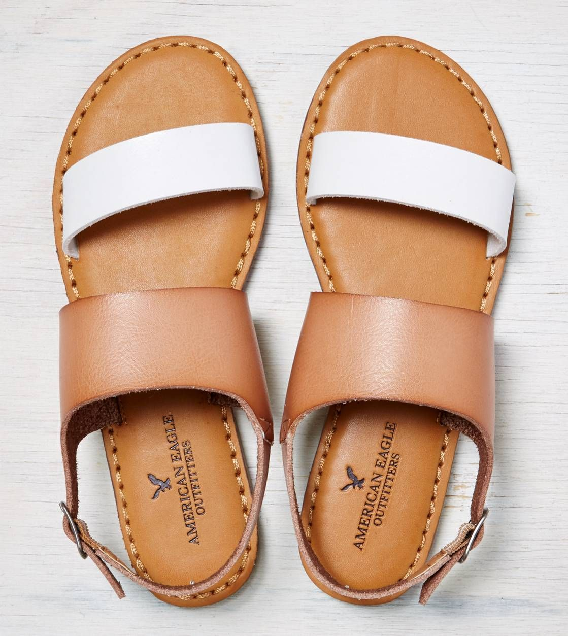 AEO Colorblocked Slingback Sandal | American eagle shoes