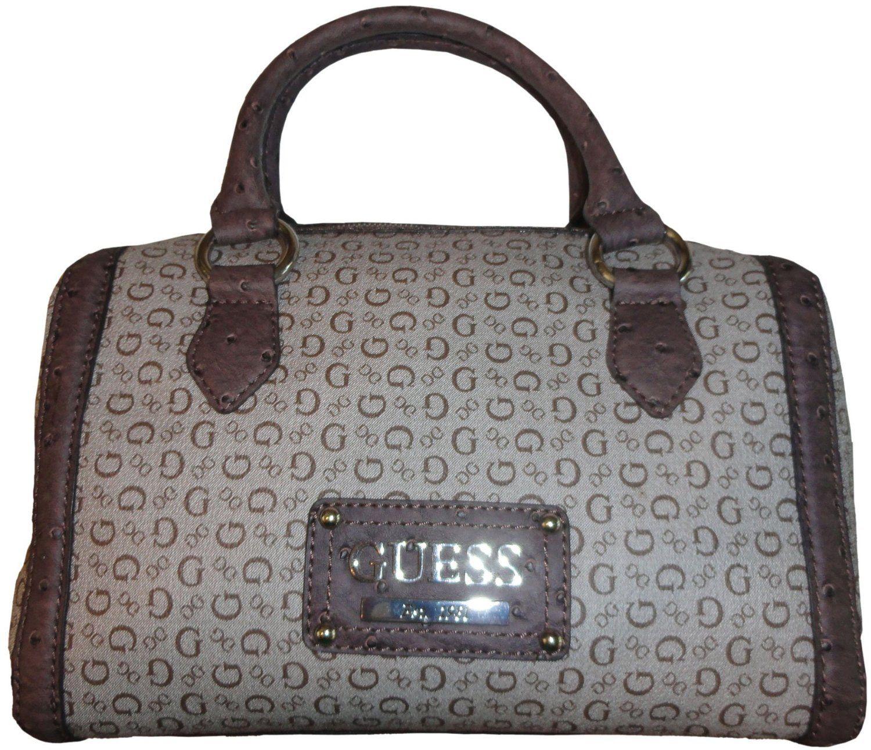 d607ca82f2ce Amazon.com  Women s Guess Purse Handbag Satchel Proposal Brown  Shoes Guess  Purses