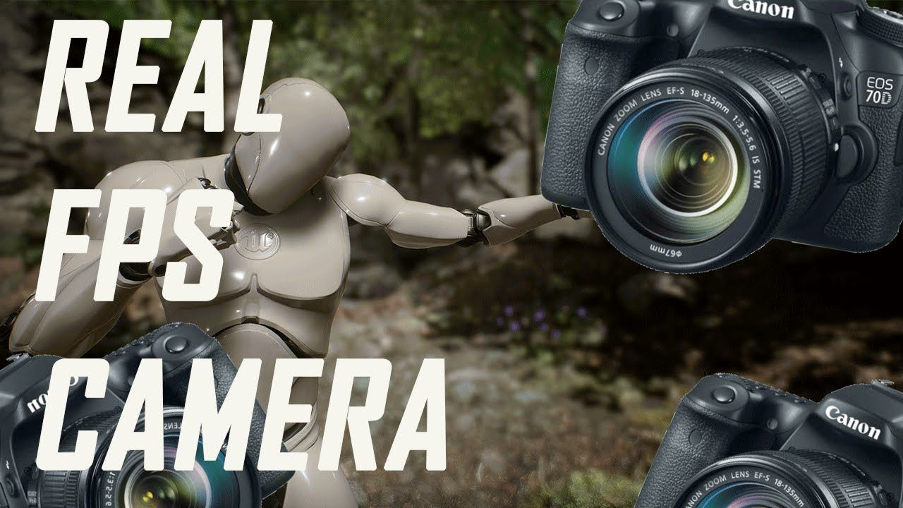 Best FPS Camera (Unreal Engine 4 Tutorial) | 3d ideas in