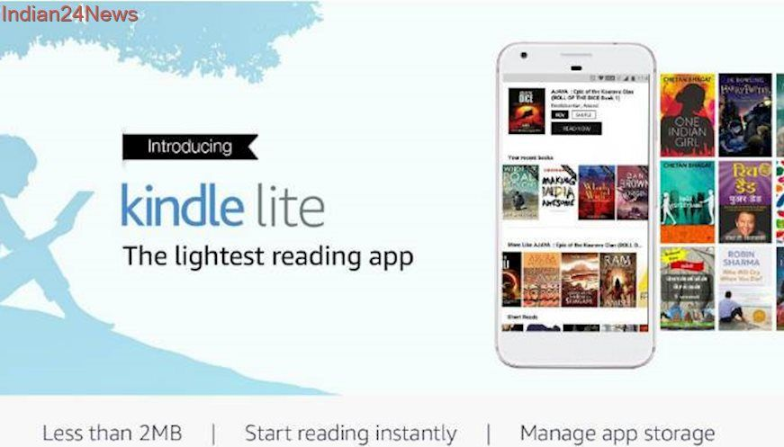 Amazon Kindle Lite Android app launched in India How to