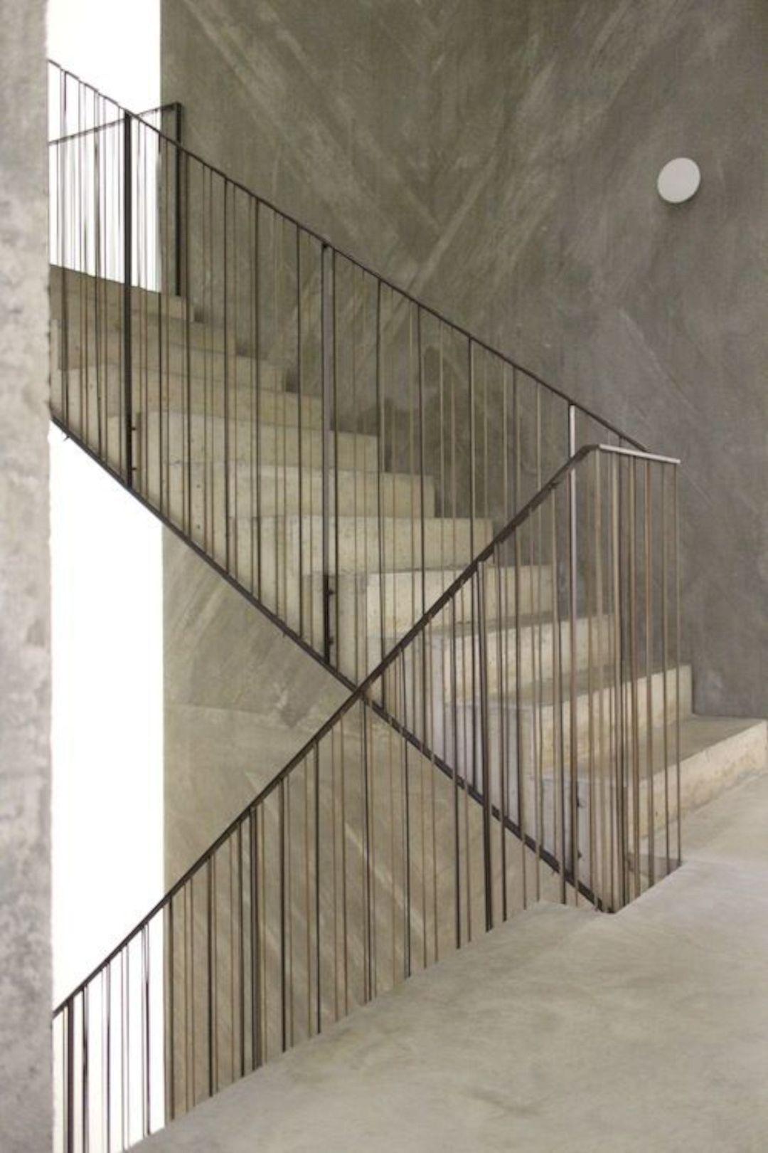 16 Super Cool Concrete Staircase Ideas | Concrete ...