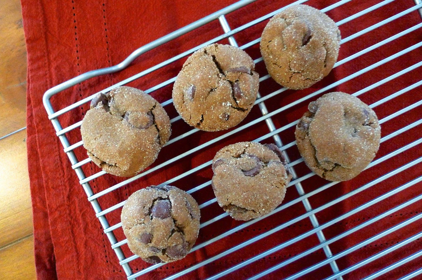siriously delicious: Chewy Chocolate Gingerbread Cookies