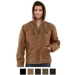 20a69d6556a Carhartt Men s Sandstone Sierra Jacket J141