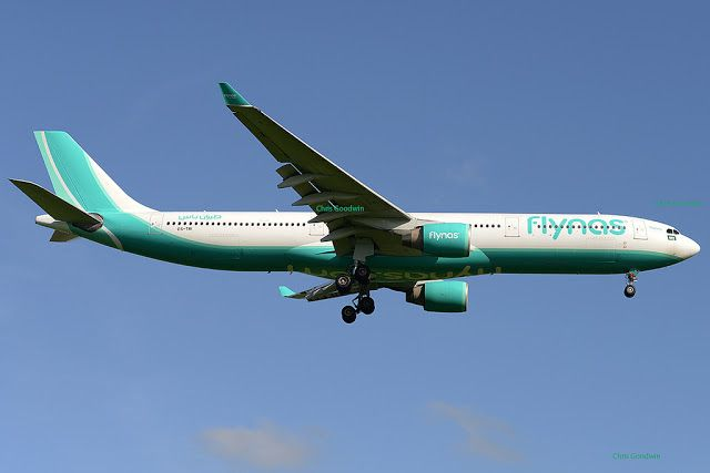 Arabian Navigation Guide طيران ناس ترفع عدد الرحلات بين الرياض وعم ان تلبية Passenger Jet Aviation Passenger