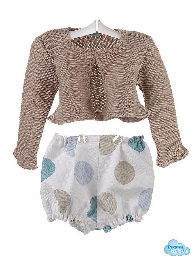 282b2c4a18711 Conjunto para bebé de chaqueta de algodón y ranita de piqué ...