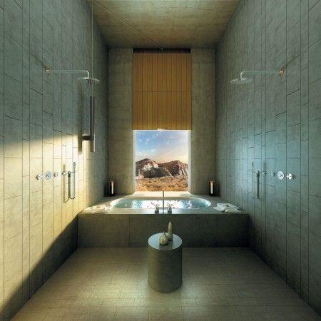 Pin by rachael sien on dream bathrooms for Design hotel utah