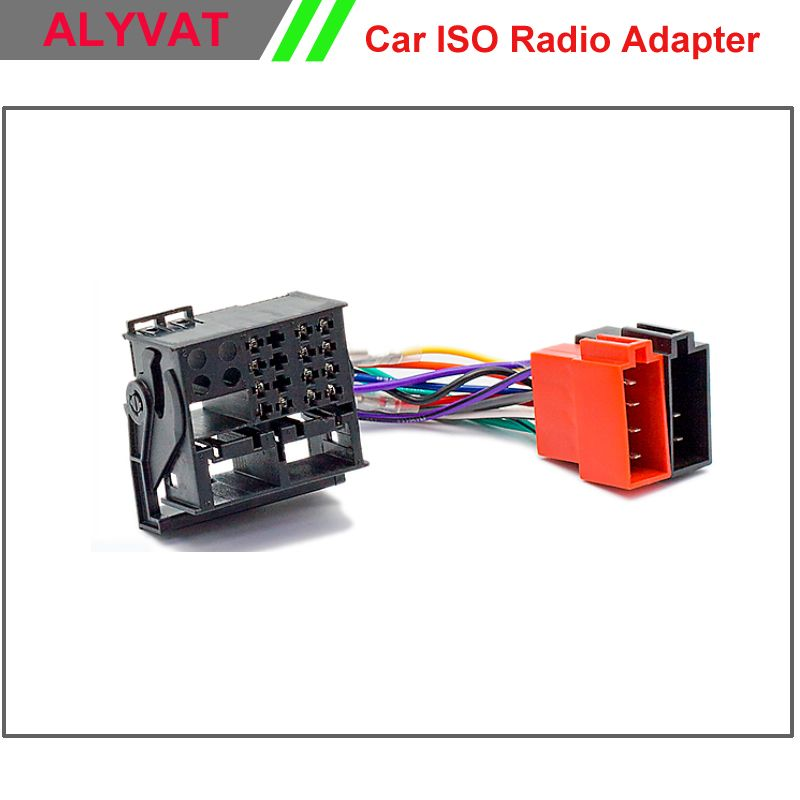 Car ISO F-Harness Radio Adapter For Ford Focus Fiesta Fusion C-Max ...