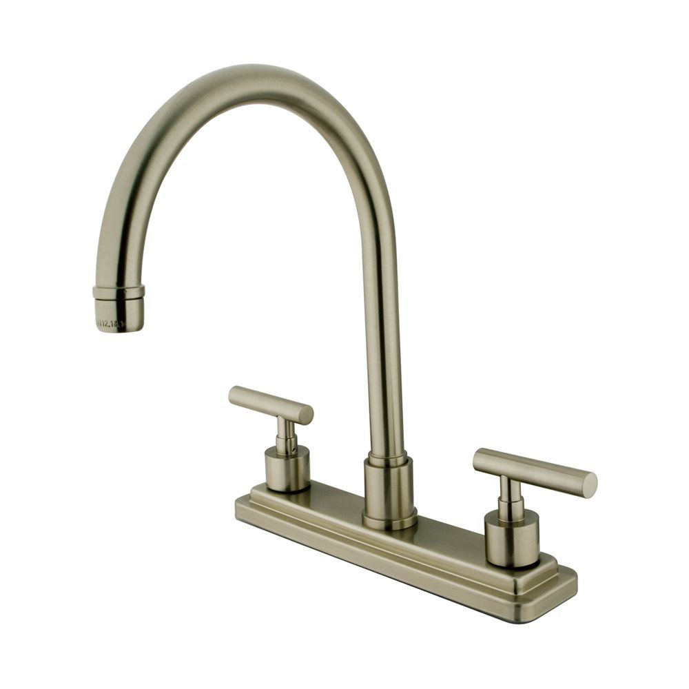 elements of design es879 manhattan two handle kitchen faucet rh pinterest co uk