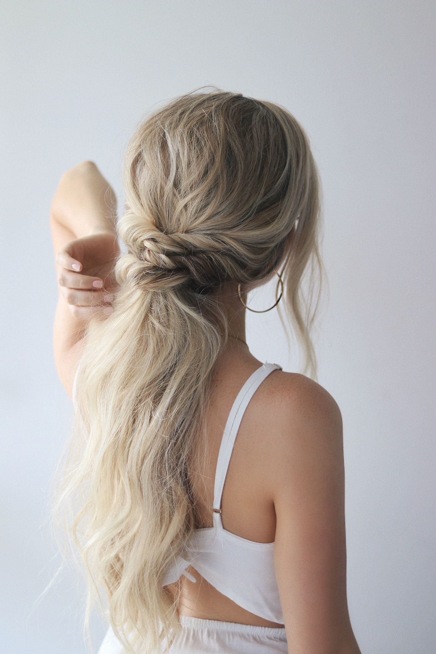 FALL HAIR TRENDS 2018 - EASY PONYTAILS HAIR TUTORIAL #hairtutorials
