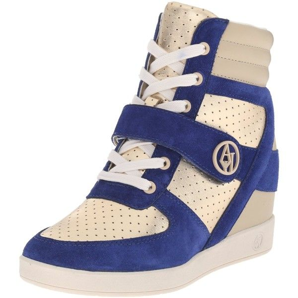 Armani Jeans High Top Fashion Sneaker