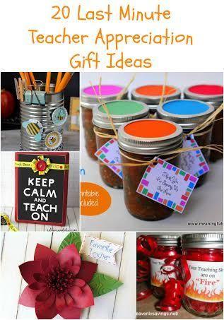 20 last minute teacher appreciation gifts practical organization rh pinterest com