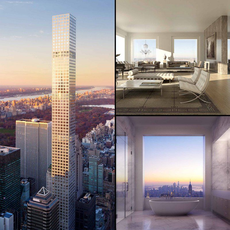 220 Central Park South Apartment: NYC's Tallest Super Slender Residential Skyscrapers