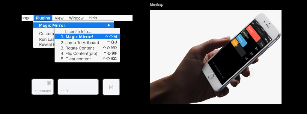 Create Perspective Mockups In Sketch Magic Mirror Sketch 3 Plugin Tool Design Magic Mirror Sketch Design