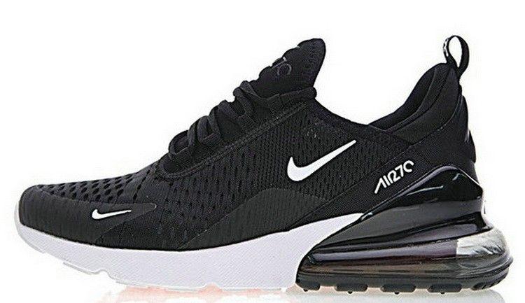 52a1ee0d2506 Nike Air Max 270 Black White AH8050 002