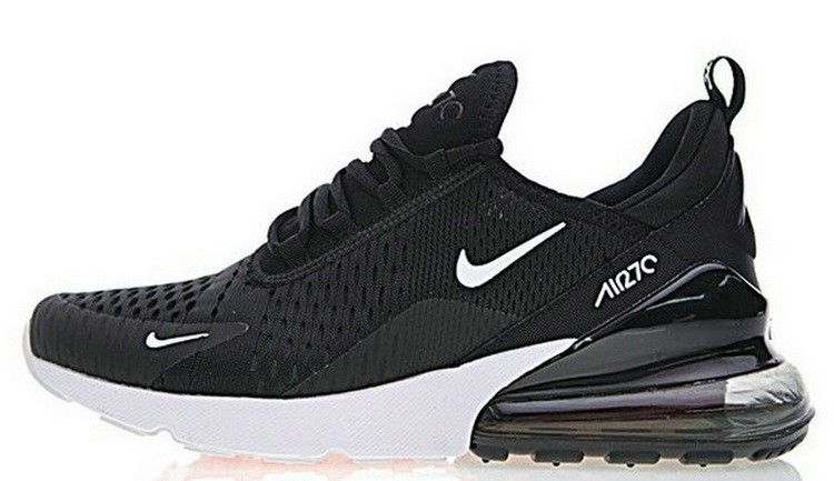 best website 3e2be b47cb Nike Air Max 270 Black White AH8050 002