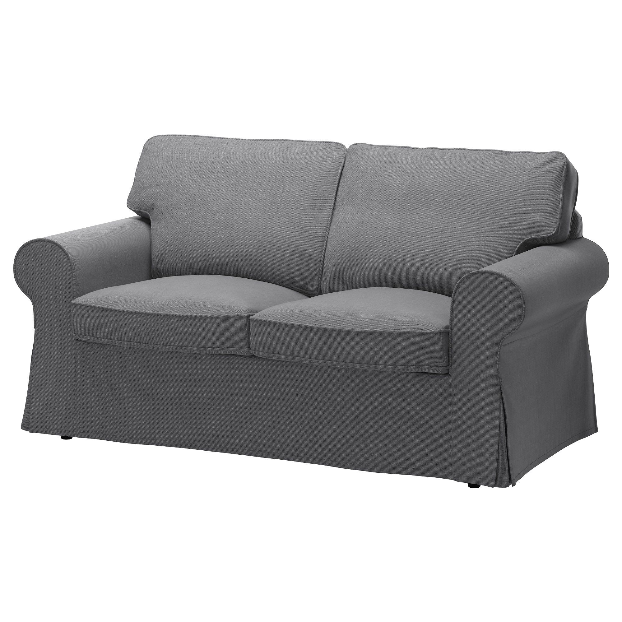 ektorp loveseat nordvalla dark gray new apt ektorp sofa ikea rh pinterest com