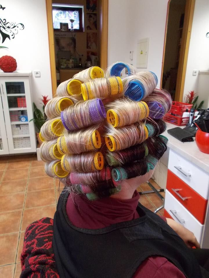 Pin by David Connelly on Curlers, Rollers & Rods 02 Hair