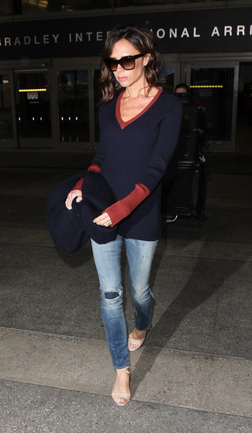 What 65 Celebrities Wore To The Airport Recently Manolo Blahnik How To Wear Fashion