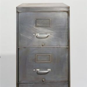 stripped metal file cabinet by simplepleasures000 industrial rh pinterest com