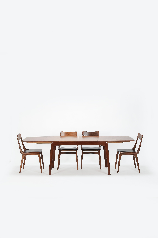 Erik Christensen Boomerang Dining Table Set Slagelse 50u0027s
