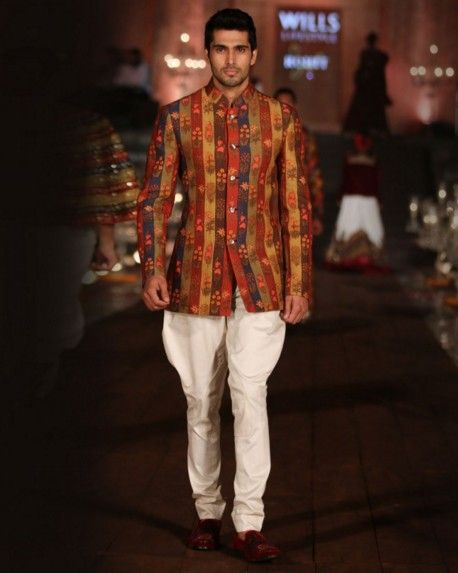 60d1a519af1 indian-men-traditional-wedding-marriage-wear-outfit-dress-clothing -printed-designer-bandhghala-rohit