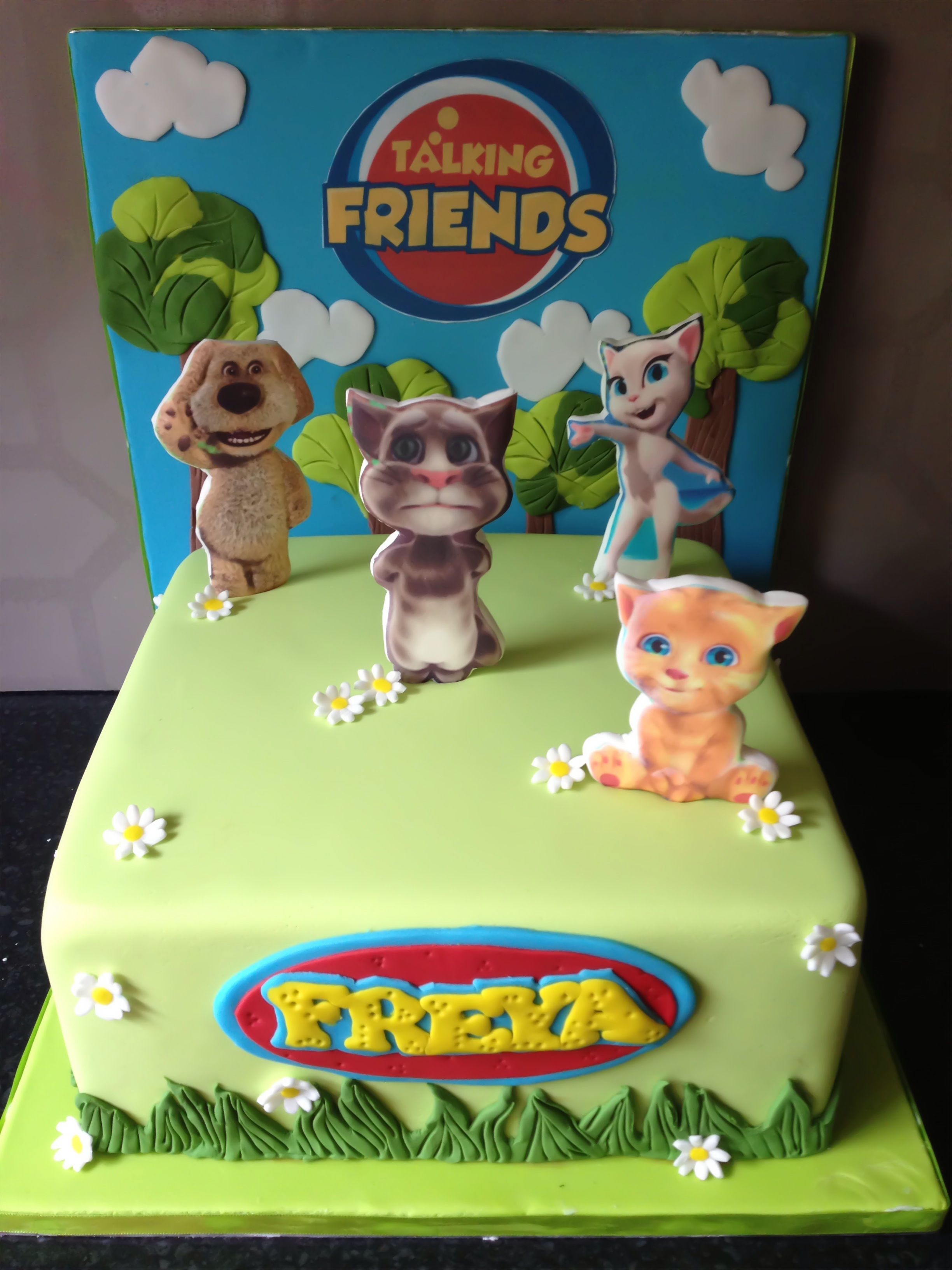 Talking Tom Cake Talking Tom Cat Bday Ideas Pinterest Cake - Cake birthday games