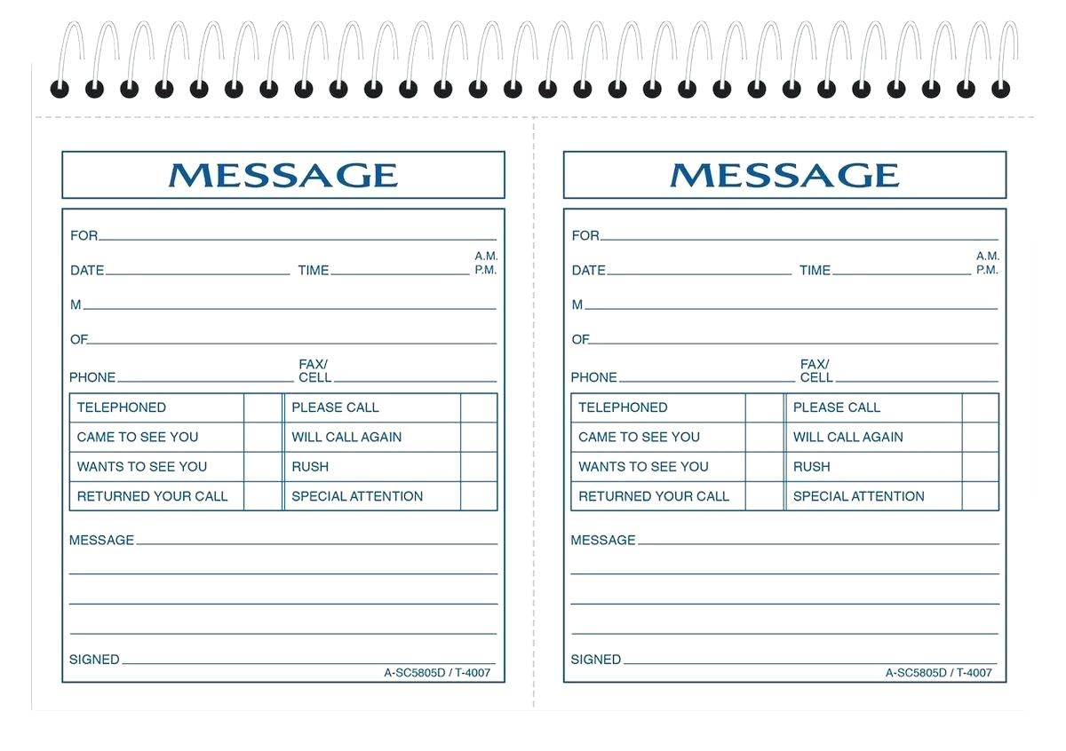 It is a photo of Free Printable Phone Message Template with regard to memo