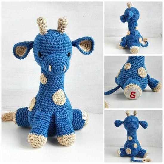 Spieluhr Giraffe Gehäkelt Häkeln Pinterest Crochet Amigurumi