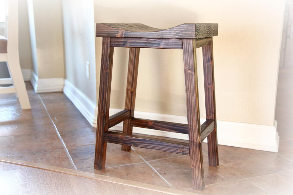 Build your own bar stools with these free plans diy bar