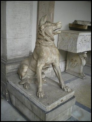 Alaunt en el museo Vaticano
