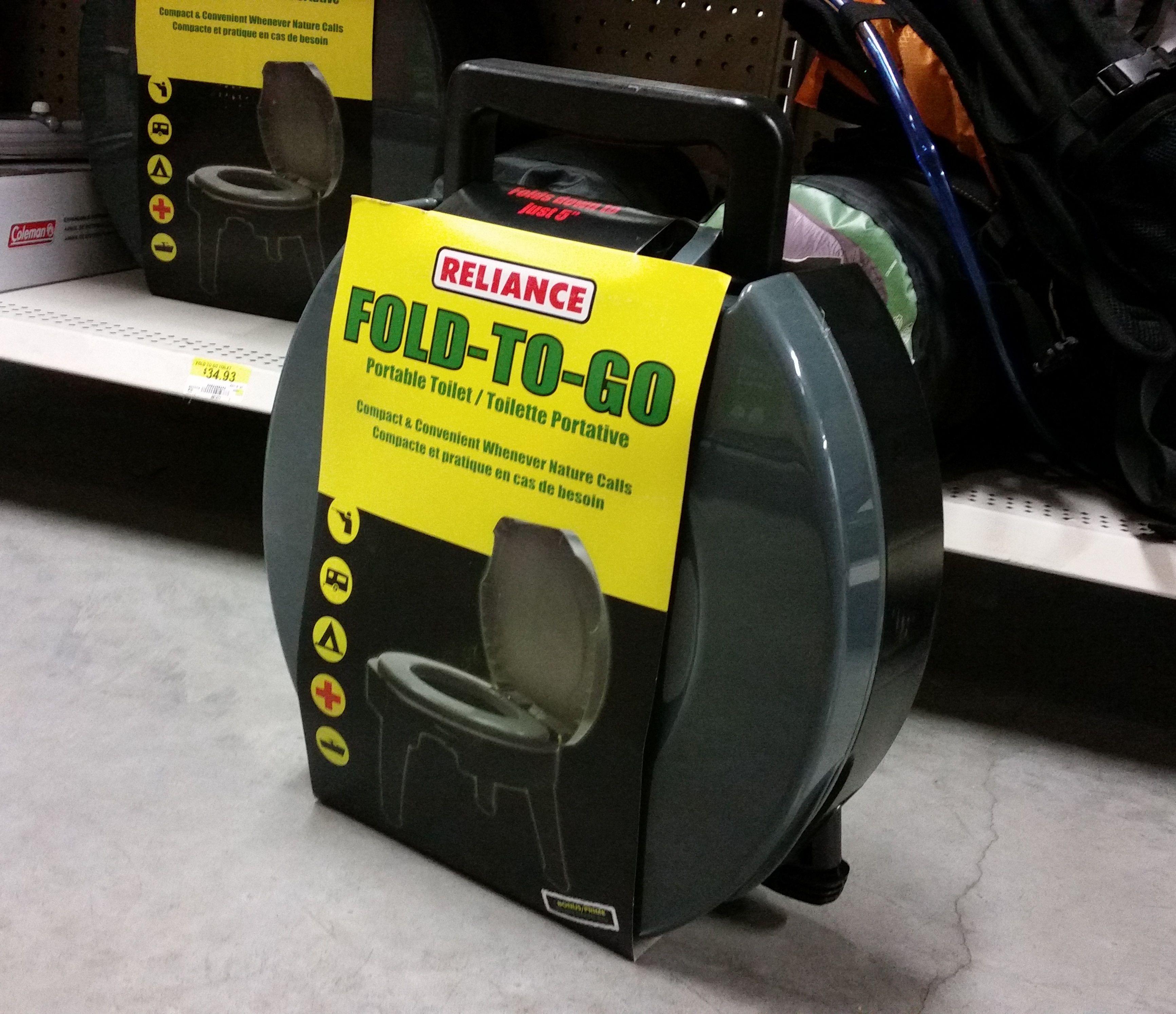 $35 at Walmart | Disposable Bag Camping Toilets | Pinterest