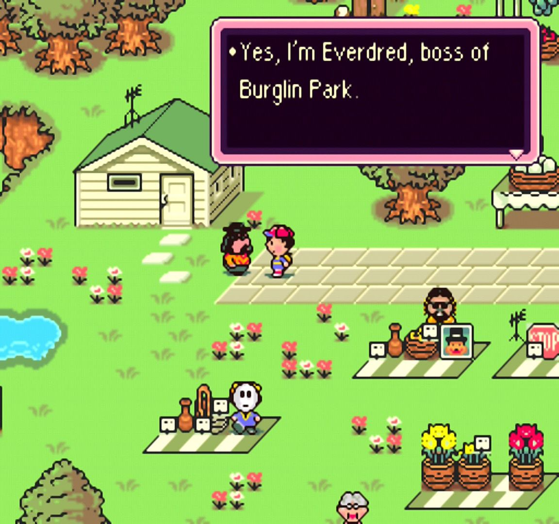 Screenshot from Earthbound for Super NES   RPGs